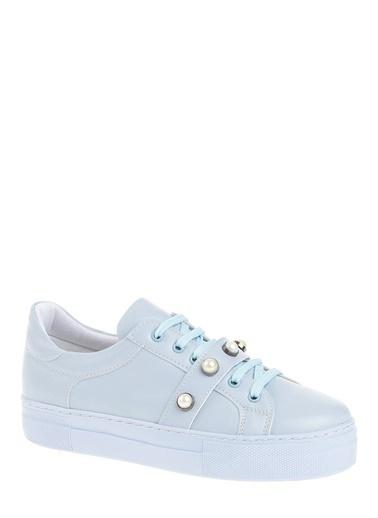 Derigo Bant Detaylı Ayakkabı Mavi